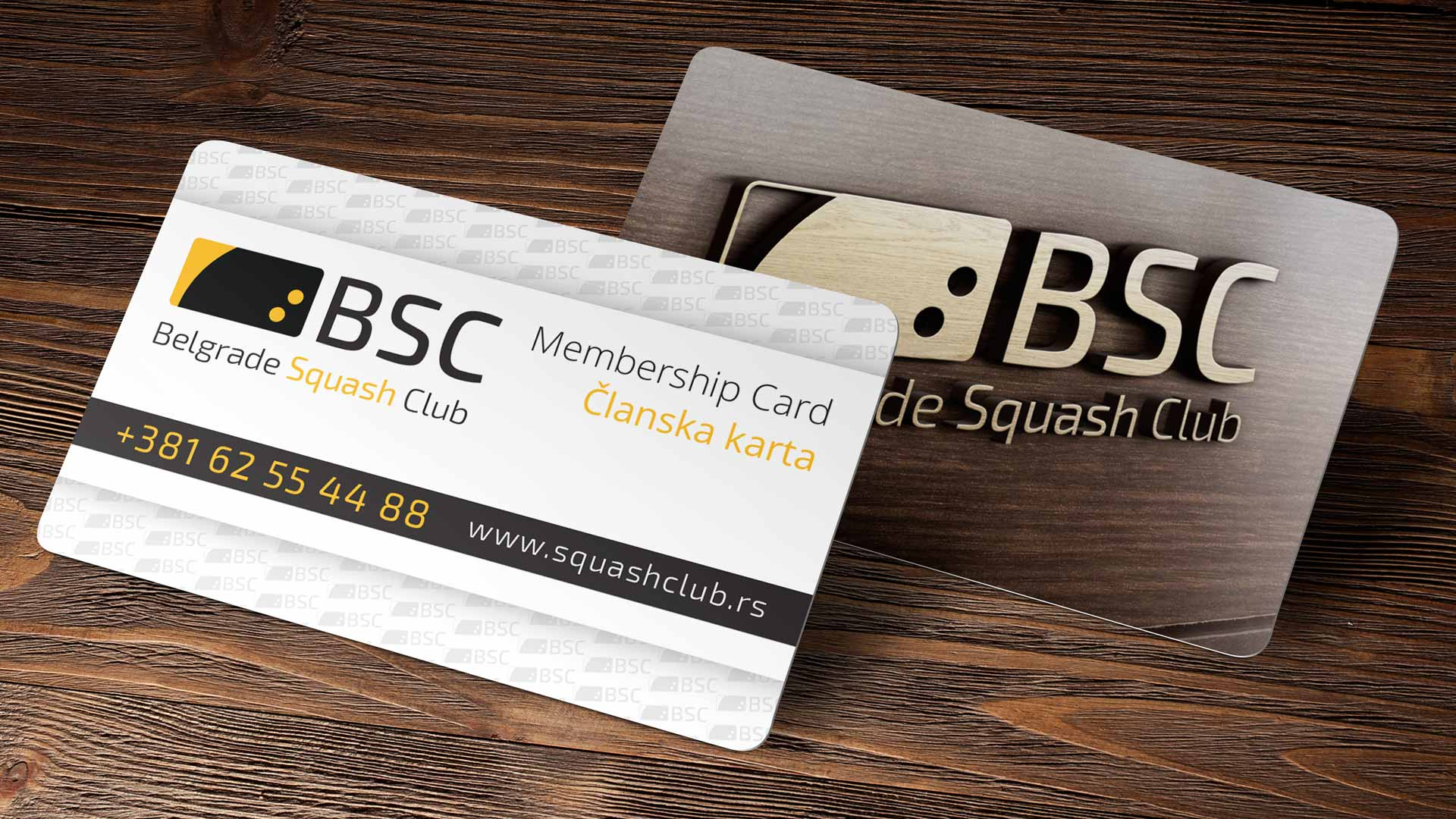 Belgrade Squash Club Logo Design