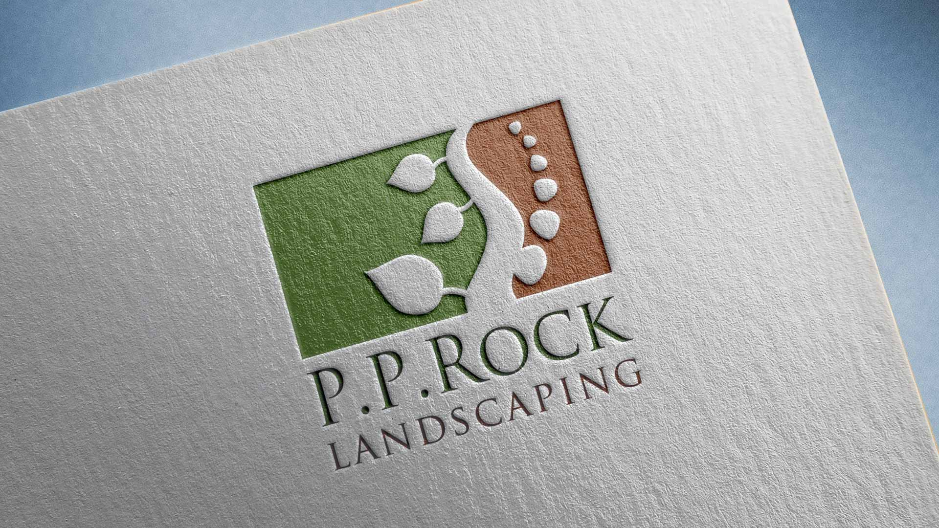 Logo design for landscaping company in Cyprus.