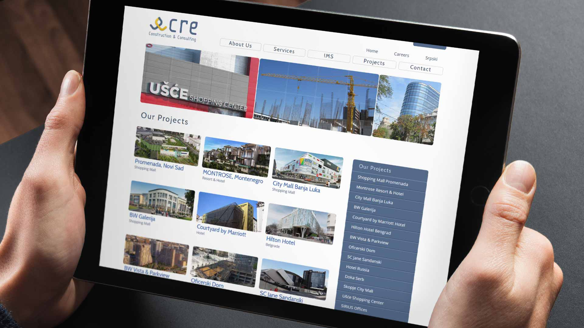 CRE International Design and Website Development