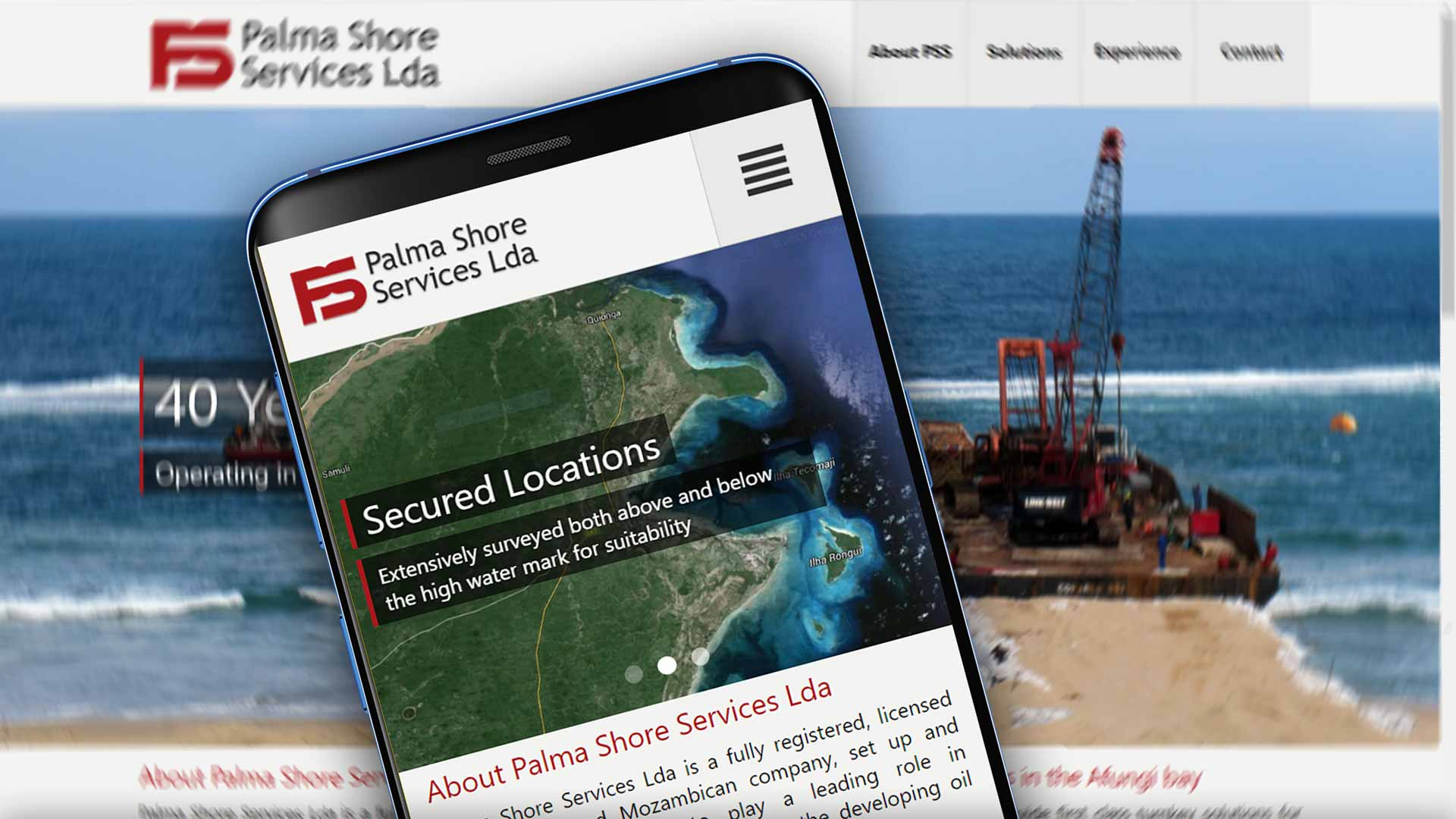 Palma Shore Services Website development